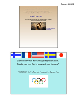 Have your own olympics game!