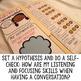 Having a Conversation Social Skills Lap Book - Elementary