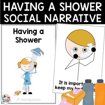 Social Story - Having a Shower
