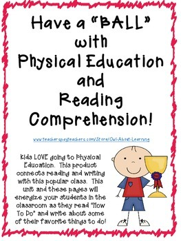 Having a BALL in the Classroom with Reading, Writing, and