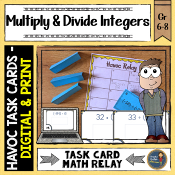 Multiplying and Dividing Integers Havoc Relay