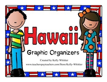 Hawaii Graphic Organizers (Perfect for KWL charts and geography!)