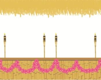 Hawaiian Tiki Theme Backgrounds