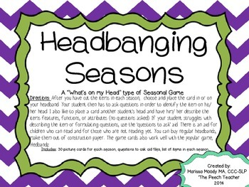 Headbanging Seasons!