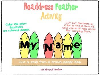 Thanksgiving Activity {Headdress}