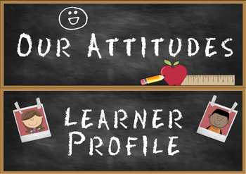 Headers for IB PYP Classroom Attitudes Set & Learner Profi