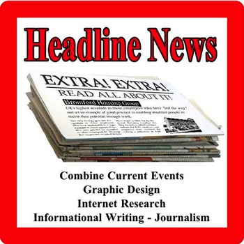 Headline News - Newspaper Writing