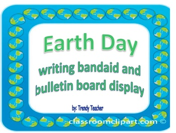 Heal the Earth (Earth Day writing activity)