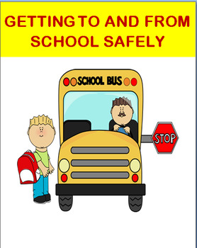 """Safety- """"Getting To and From School Safely""""- Fun Maze Activity"""