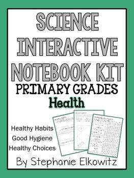 Health Interactive Notebook Activities (Primary Grades)