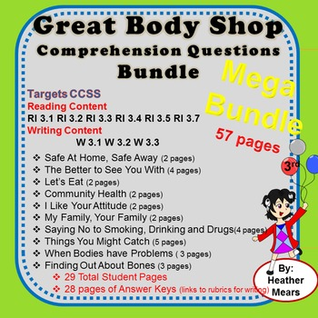 Health Questions Great Body Shop- 2014 Bundle
