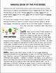 """The Five Senses""-Mini-lesson and writing prompt"