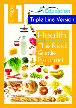 Health - The Food Guide Pyramid - Grade 1 (with 'Triple-Tr