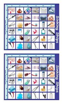 Health and Personal Hygiene Battleship Board Game