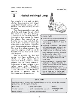 Health and Safety: Avoiding Health Hazards-Alcohol and Ill