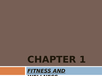 Health and Skill Related Fitness