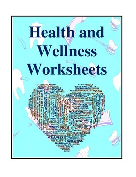 Printables Health And Wellness Worksheets wellness worksheets davezan health and by brilliance builders teachers