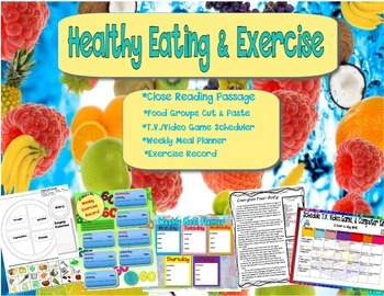 Healthy Eating & Exercise - Food Groups
