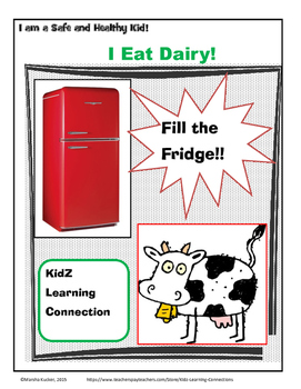 MyPlate Food Groups: Dairy Products