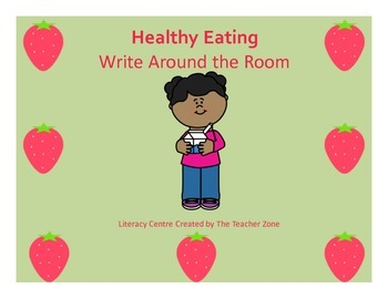 Healthy Eating Read Around the Room