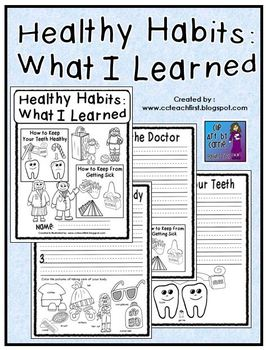 Healthy Habits What I Learned