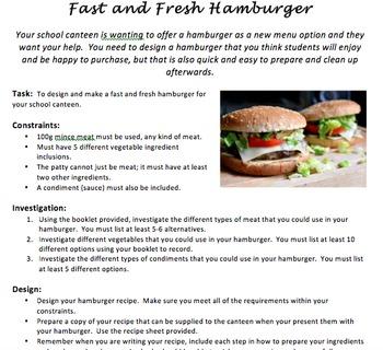 Healthy Hamburger Assignment