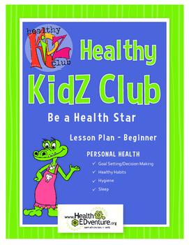 Be A Health Star  Lesson Plan