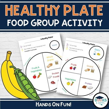 Healthy Eating - My Plate Cut & Paste Activity