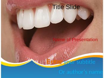 Healthy Teeth PPT Template