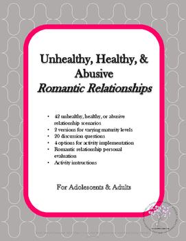 Healthy, Unhealthy, & Abusive Romantic Relationships