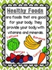 Healthy and Unhealthy Foods