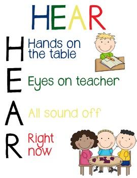 Hear Poster