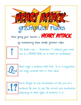 Heart Attack Grammar