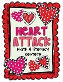 Heart Attack Math & Literacy Centers