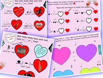 Music: Heart Beat Music Math Notebook/Interactive Whiteboard