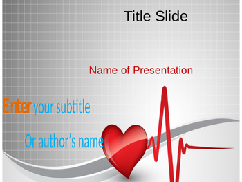Heart Beat PPT Template