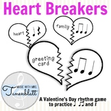 Heart Breakers: A Valentines Day rhythm game for ta, titi,