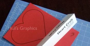 Heart Craft Template PDF