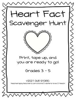 Heart Facts Scavenger Hunt
