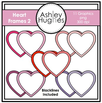 Heart Frames 2 {Graphics for Commercial Use}