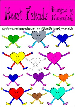 Heart Friends {Designs by Nawailohi}