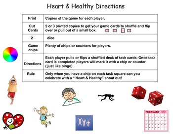 Heart & Healthy Bingo