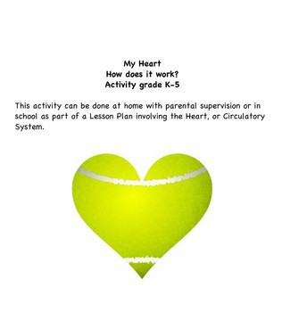 Heart-How does it work?/Circulation Lesson Activity / Take