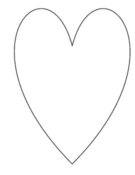 Heart Map - Writing