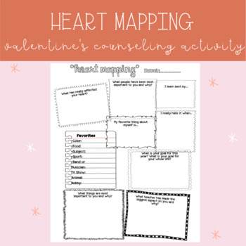Heart Mapping -- Getting to Know You Activity -- Back to S
