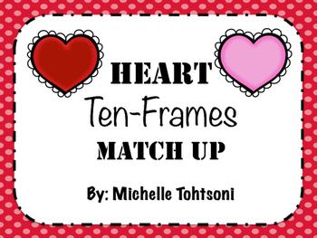 Heart Ten Frames