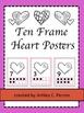 Heart Themed 10 Frame Counting Pack--Preschool, Kindergarten, 1st