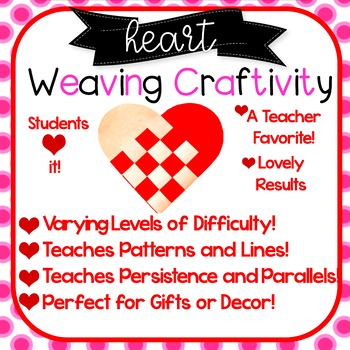 Heart Weaving! 8 Patterns! Valentine's Day, Mother's Day,