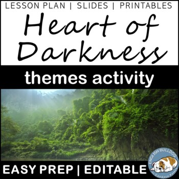 Heart of Darkness Themes Textual Analysis Activity