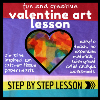 Heart Themed Valentines Art Lesson With Jim By